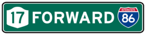 17 Forward 86 Logo