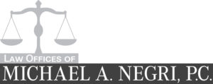 Law Offices Of Michael A. Negri, P.c Logo Black