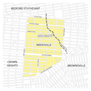 15 Weeksville Map