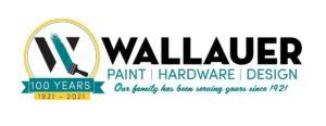 Wallauer Paint & Design Logo