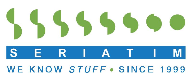 Seriatim Logo 1999 Tagline A Trans