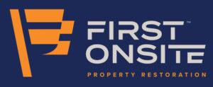 FIRST ONSITE Property Restoration Logo