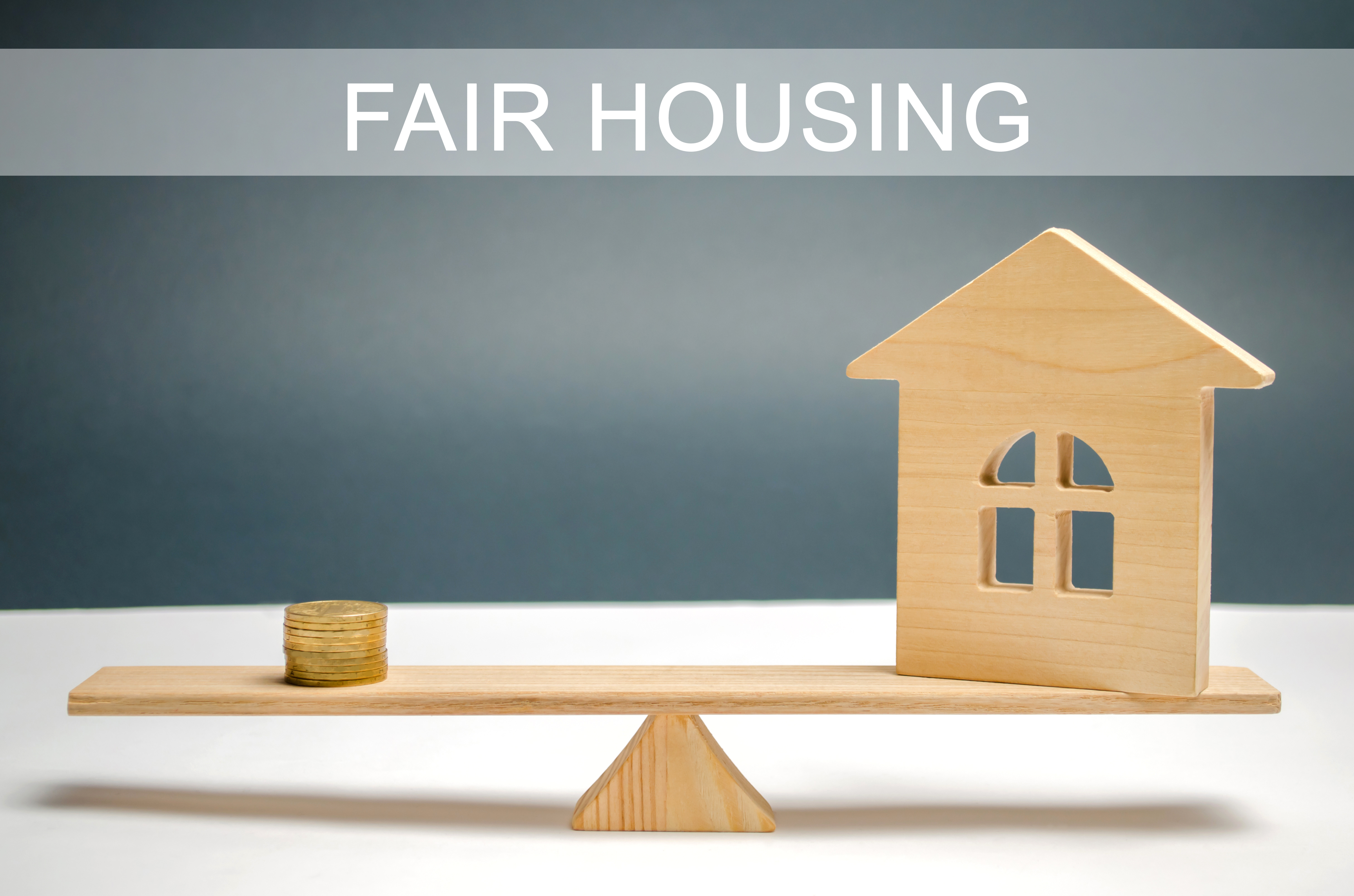 Money And House On The Scales With The Inscription Fair Housing. Home Appraisal. Property Valuation. Housing Evaluator. Fair Trade. Legal Transparent Deal. Apartment Purchase / Sale.